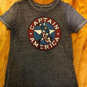 Marvel TM - Captain America Tee - Juniors Medium